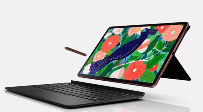 Samsung presenta sus Galaxy Tab S7 y Tab S7+, una tablet a la altura de una PC