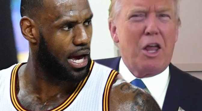 Trump critica protesta de NBA y LeBron responde