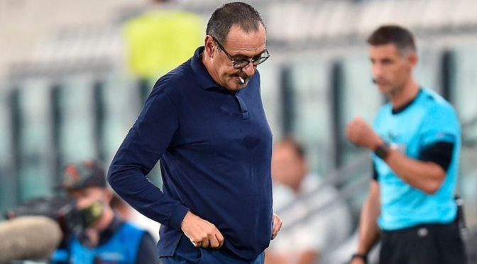 Juventus despide a Sarri tras nueva eliminación en la Champions