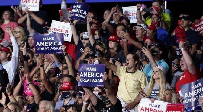 Trump vs. Biden: El teatro político en torno a la pandemia