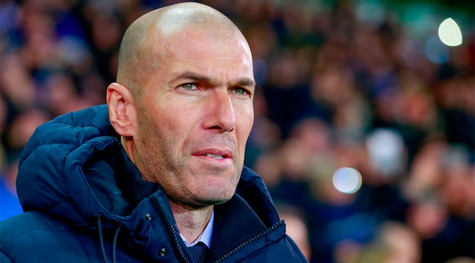 Zidane dice que el Real Madrid no necesita hacer fichajes