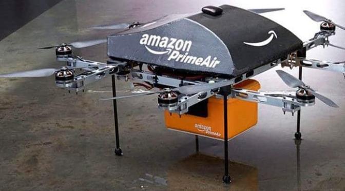 Dan autorización a Amazon para entregar paquetes con drones