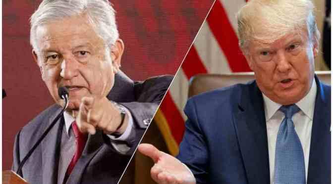 Declaración de Trump no amerita respuesta': López Obrador