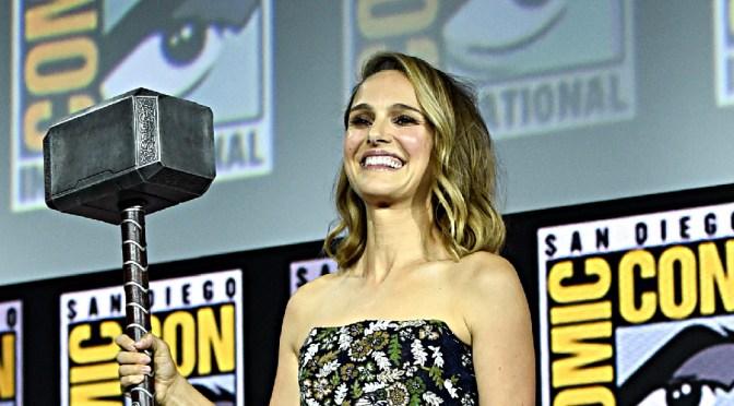 Thor Love and Thunder: revelan posible imagen de Natalie Portman como diosa del trueno