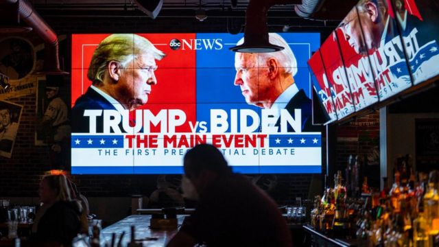 Efectos del primer debate de candidatos presidenciales en Estados Unidos