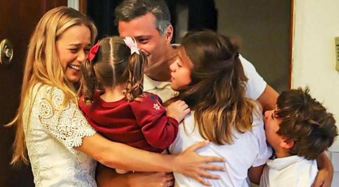 El opositor venezolano Leopoldo López llega a España tras eludir cerco de Maduro