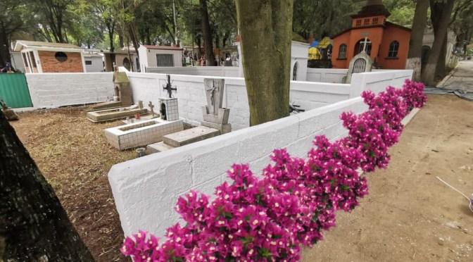 Panteones de Cuajimalpa cerrarán en Día de Muertos para evitar contagios por Covid-19