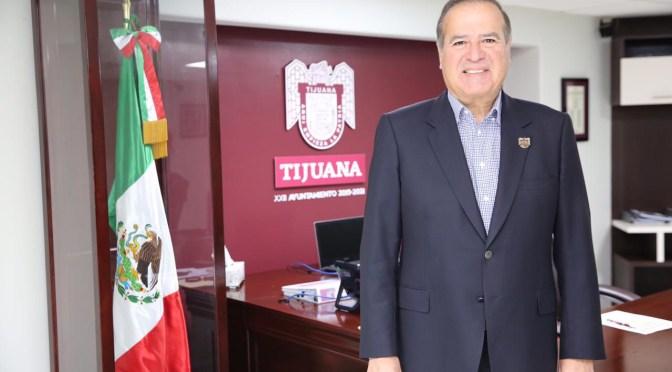 Alcalde de Tijuana pedirá licencia para contener en las próximas elecciones de 2021