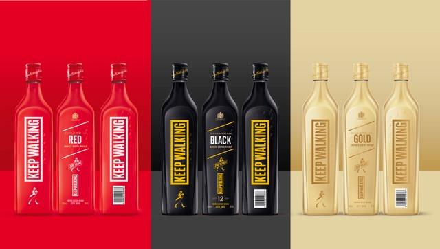 Johnnie Walker reinventa el diseño de sus más icónicos whiskies en una nueva edición limitada