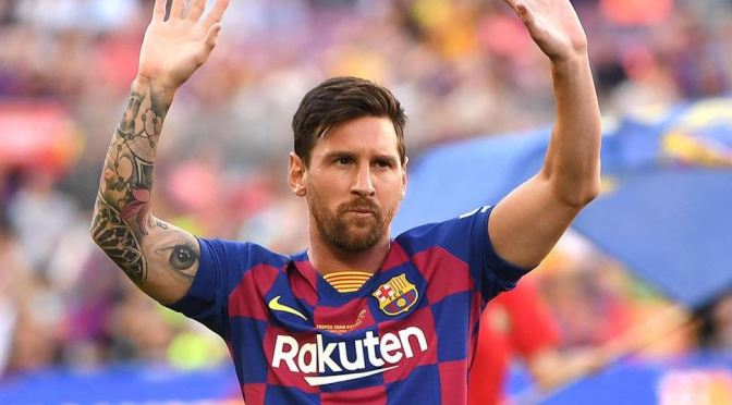 Messi iguala el récord de Pelé de 643 goles en un mismo club