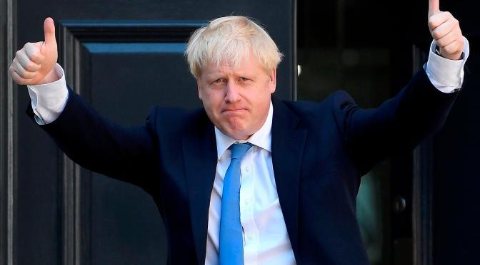 Boris Johnson dice que espera trabajar con Biden en objetivos compartidos