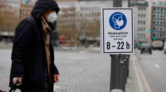 Alemania supera los 2 millones de contagiados de COVID-19