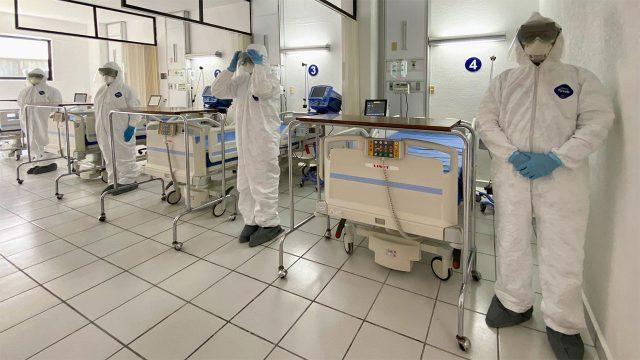Incrementaremos camas para pacientes con Covid-19 en 8 Estados: Robledo