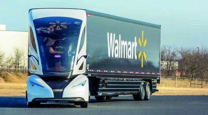 Walmart apostará por la implementación de vehículos autónomos en 2021