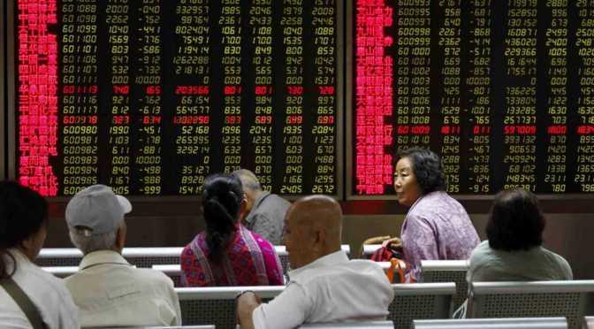 Las acciones de China terminan la semana a la baja por preocupaciones de liquidez
