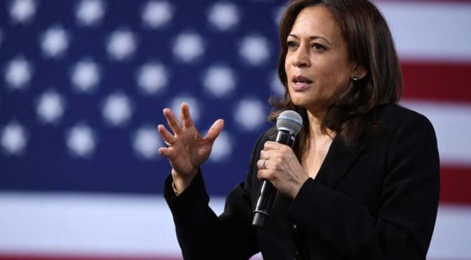 Kamala Harris hace historia al jurar como vicepresidenta de Estados Unidos