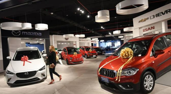 Ventas de autos nuevos en Europa caen un 3.7% en diciembre