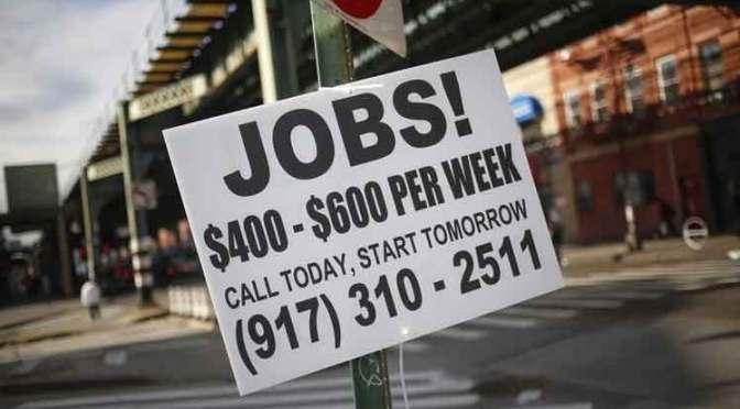 Mercado laboral de Estados Unidos pierde velocidad a medida que el Covid-19 se sale de control