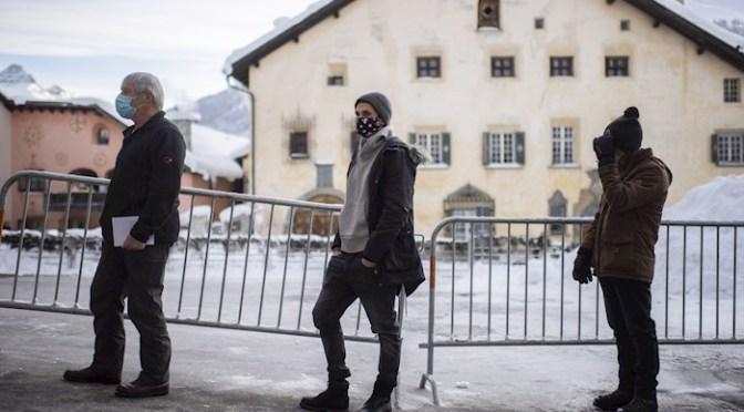 Suiza cerrará bares y restaurantes hasta finales de febrero por Covid-19