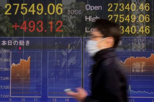 Mercados asiáticos se deslizan a medida que los mayores rendimientos de los bonos ponen a prueba al sector tecnológico