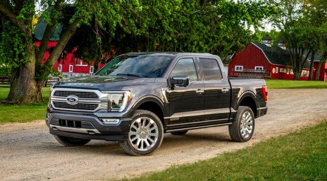 Ford recorta la producción de camionetas F-150 debido a la escasez de semiconductores