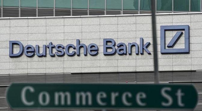 Director de Deutsche Bank renuncia a la supervisión del banco de inversión