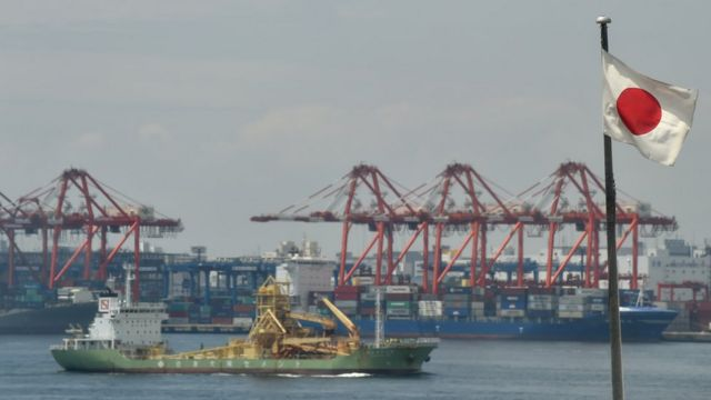 Japón reduce las exportaciones debido a la debilidad económica