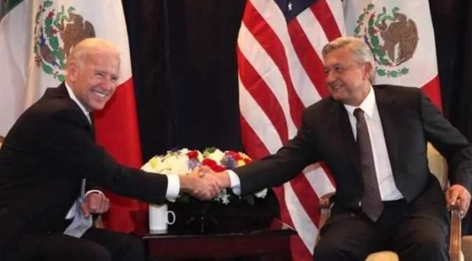 Trataremos a México como un igual: Biden