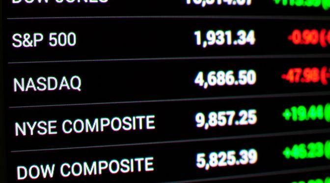 S&P 500 y Dow Jones caen desde máximos históricos