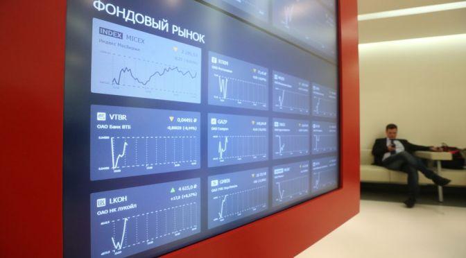 Bolsa de Moscú informa una entrada y una actividad récord de los inversores minoristas