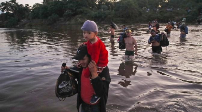 México reporta fuerte incremento de migrantes