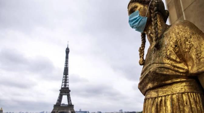 París a punto de entrar nuevamente a confinamiento por repunte en casos de Covid-19
