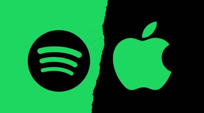 Apple enfrenta cargos de la Unión Europea por denuncia de Spotify