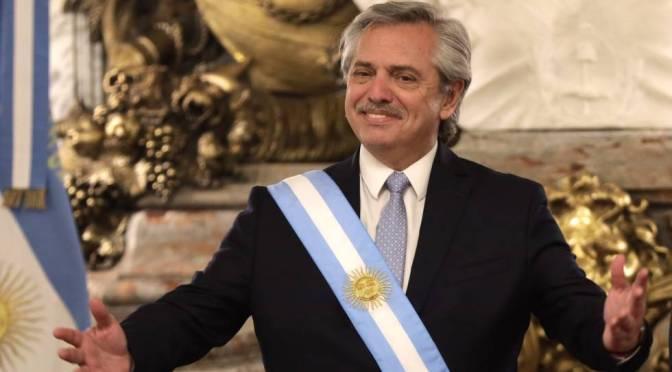 Presidente Alberto Fernández de Argentina da positivo a COVID-19