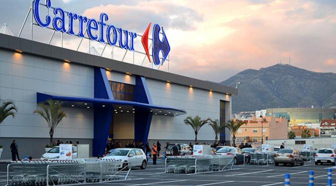 Recompra de acciones y las fuertes ventas impulsan acciones de Carrefour