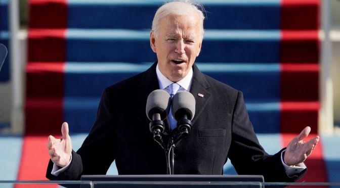 Biden dice que no existe evidencia de que los impuestos corporativos más altos impulsen a las empresas al extranjero