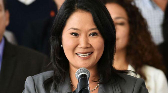 Fujimori pide a Evo Morales no opinar sobre comicios en Perú