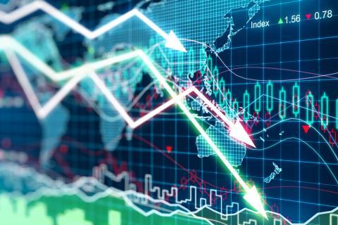 Acciones mundiales caen a niveles históricos
