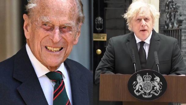 El duque de Edimburgo inspiró a generaciones de británicos: Johnson