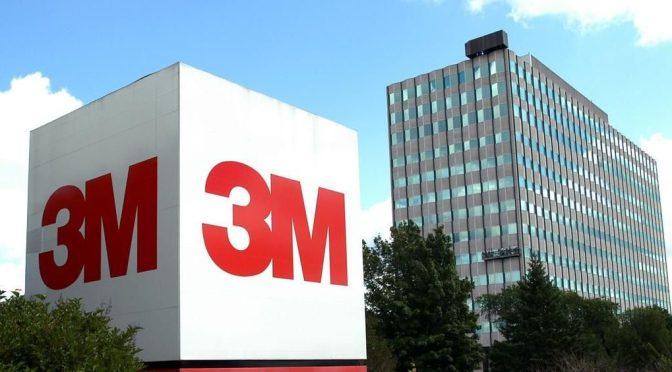 3M advierte de mayores costos debido a interrupciones de la cadena de suministro
