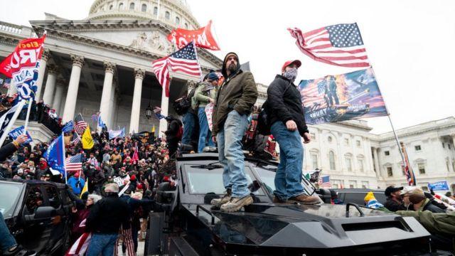 Republicanos bloquearían comisión sobre asalto al Capitolio