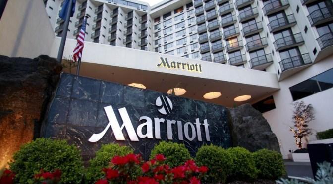 Resultados trimestrales de Marriott son menores a lo esperado