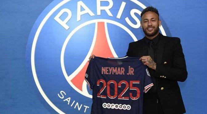 PSG anuncia la renovación de Neymar hasta 2025