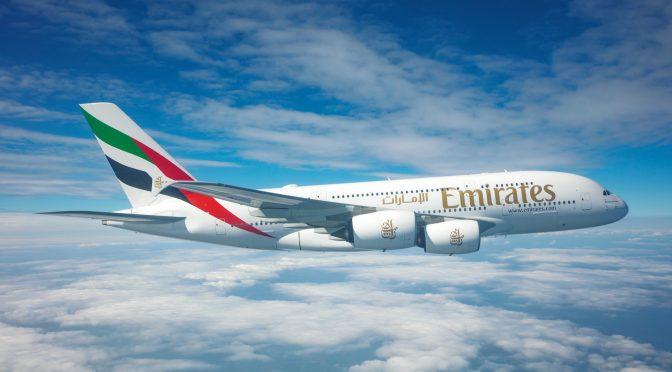 Emirates Airlines planea operar con el 70% de su capacidad normal en el invierno