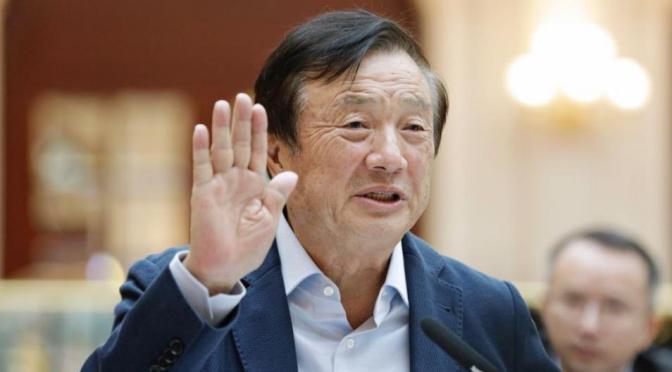 Fundador de Huawei insta a presionar por software para contrarrestar las sanciones de Estados Unidos