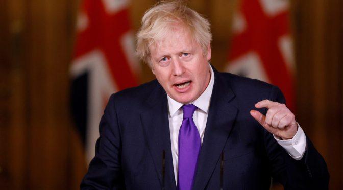 G7 debería invertir 10 billones de dólares para avivar la recuperación: Johnson