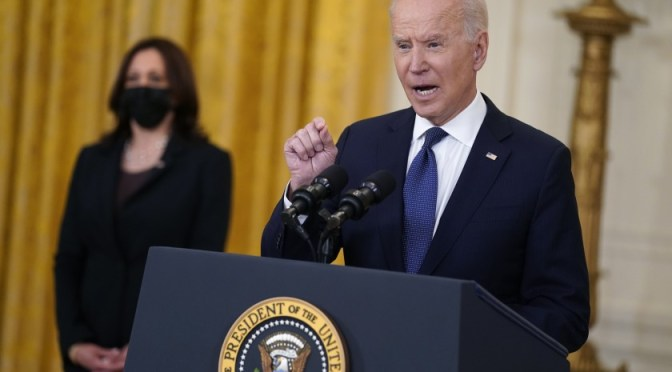 Biden publicará el primer presupuesto detallado de su presidencia el 27 de mayo