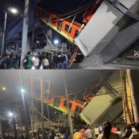 Colapsa estructura del Metro de la CDMX en la estación Olivos de la línea 12