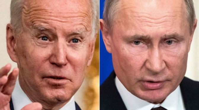 Biden se enfoca en reunión con Putin del próximo 16 de junio