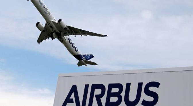 Airbus dice que no tiene planes de construir un avión de pasillo único más grande